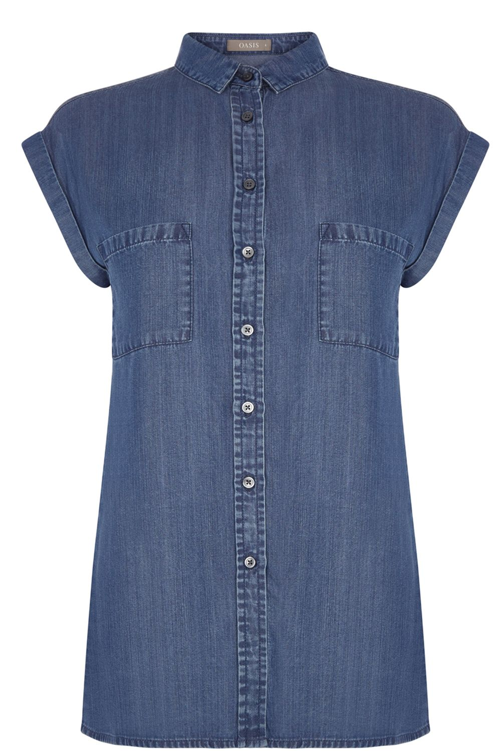 Oasis Taylor Shirt, Denim