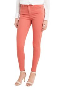 Oasis Rose Coloured Lily Skinny Jeans