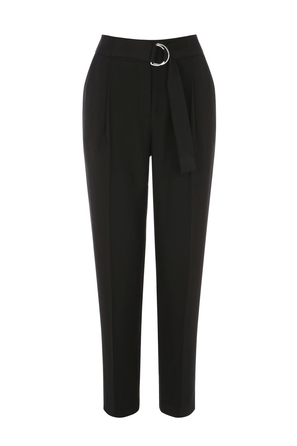 Oasis LUXE UTILITY TROUSER, Black