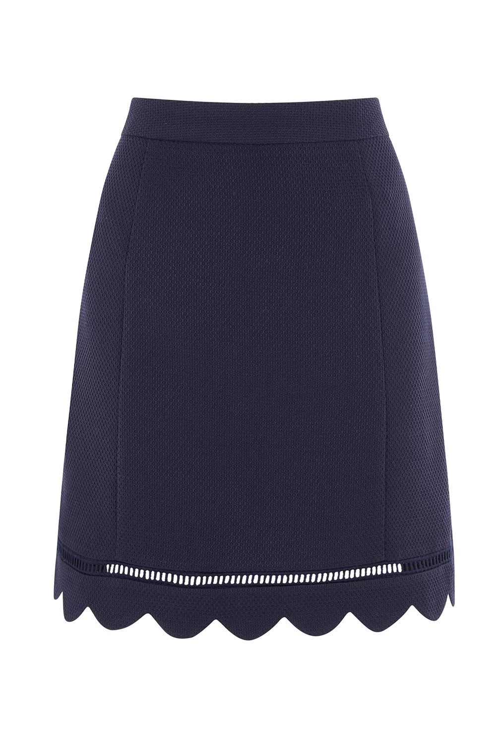 Oasis Scallop Skirt, Blue
