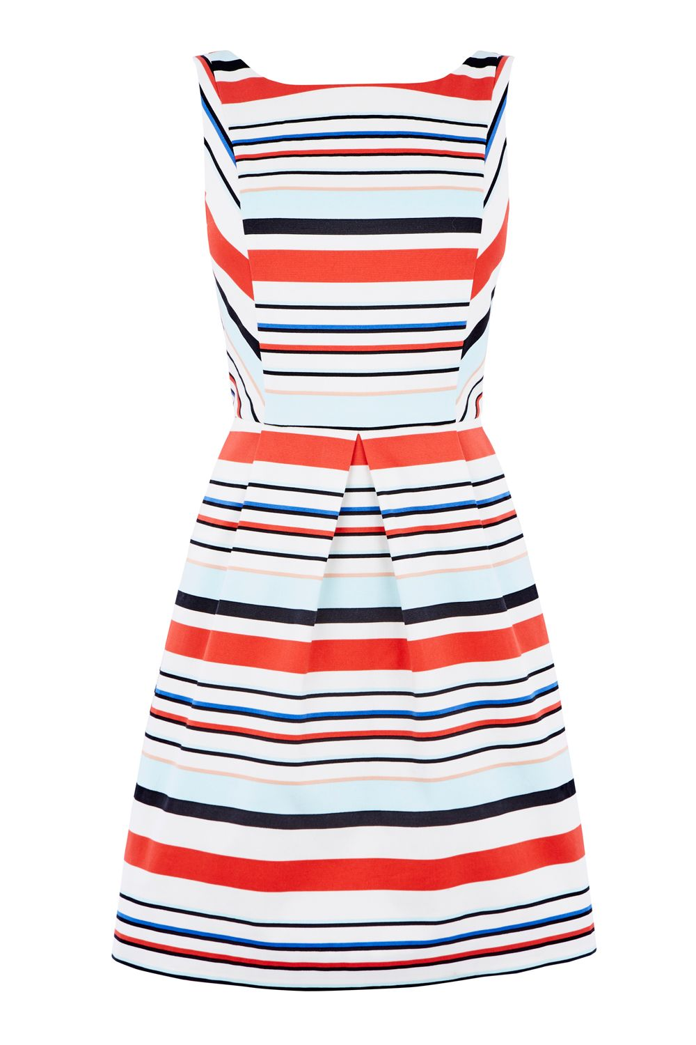 Oasis STRIPE SUNDRESS, Multi-Coloured
