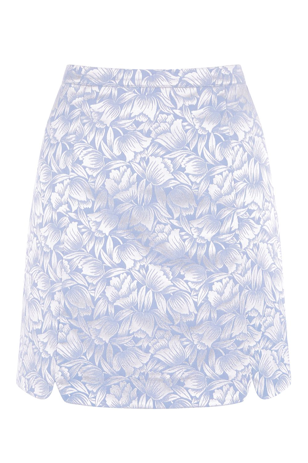 Oasis JACQUARD MINI SKIRT, Multi-Coloured