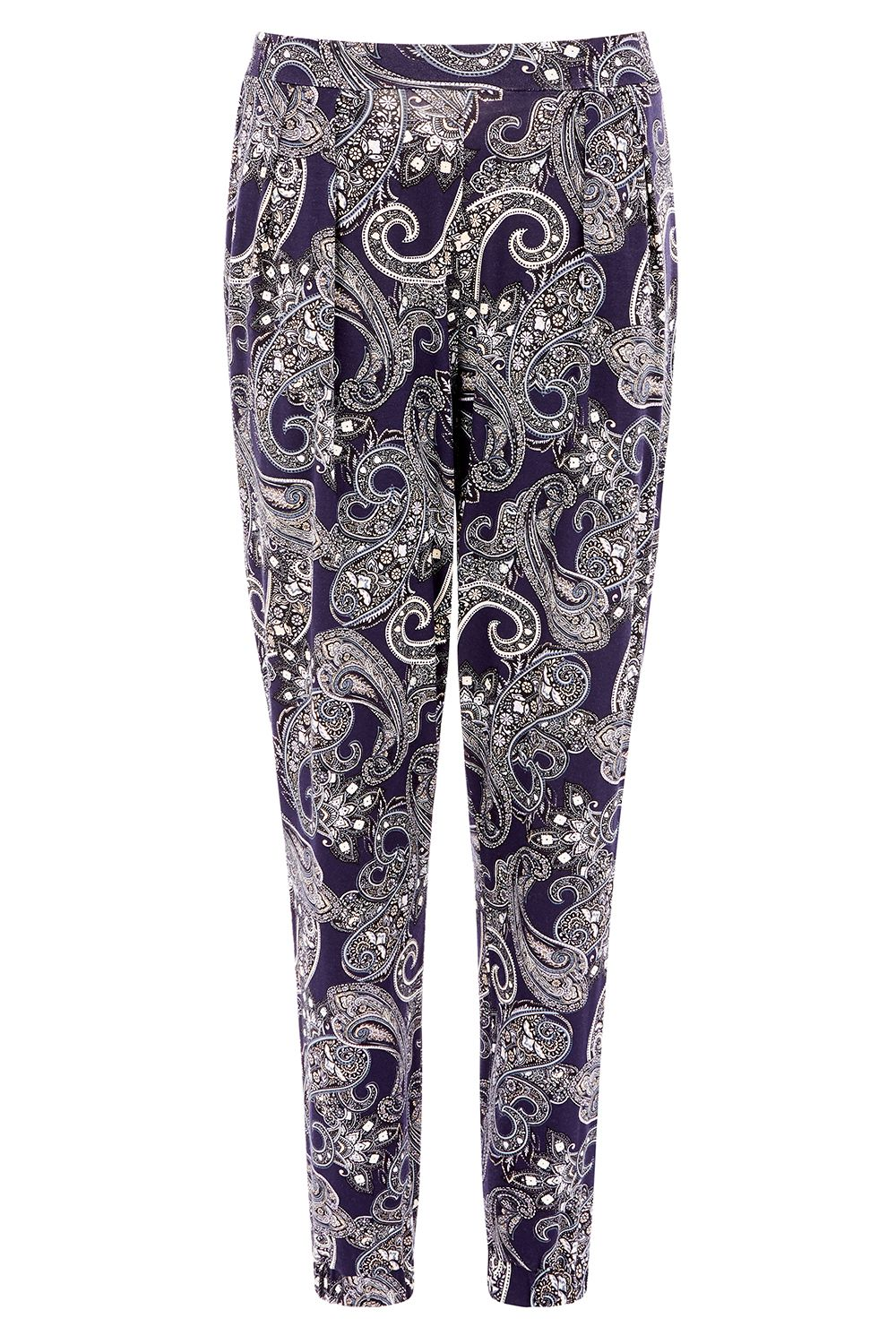 Oasis AZTEC PRINT TROUSER, Multi-Coloured