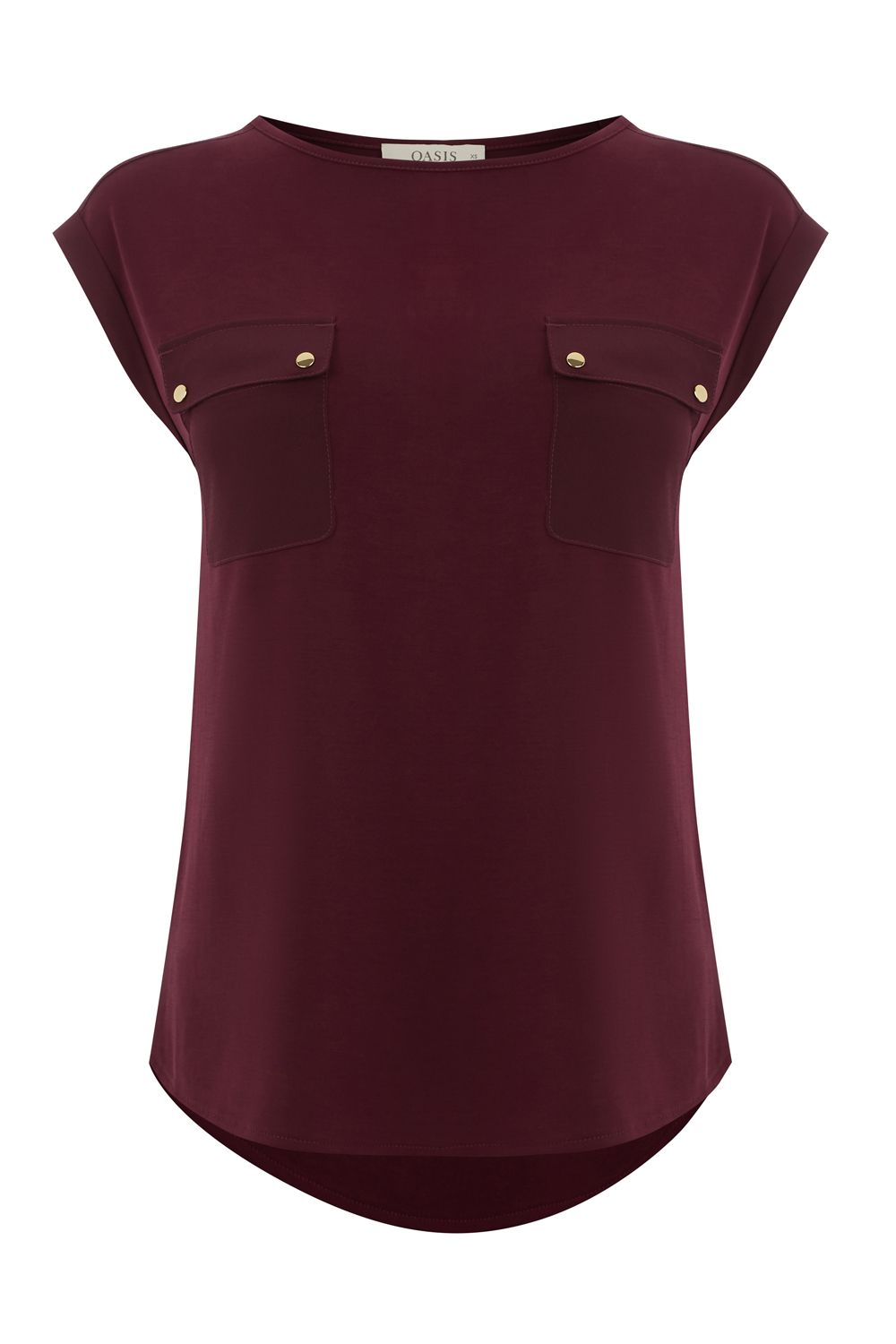Oasis Utility Tee, Red