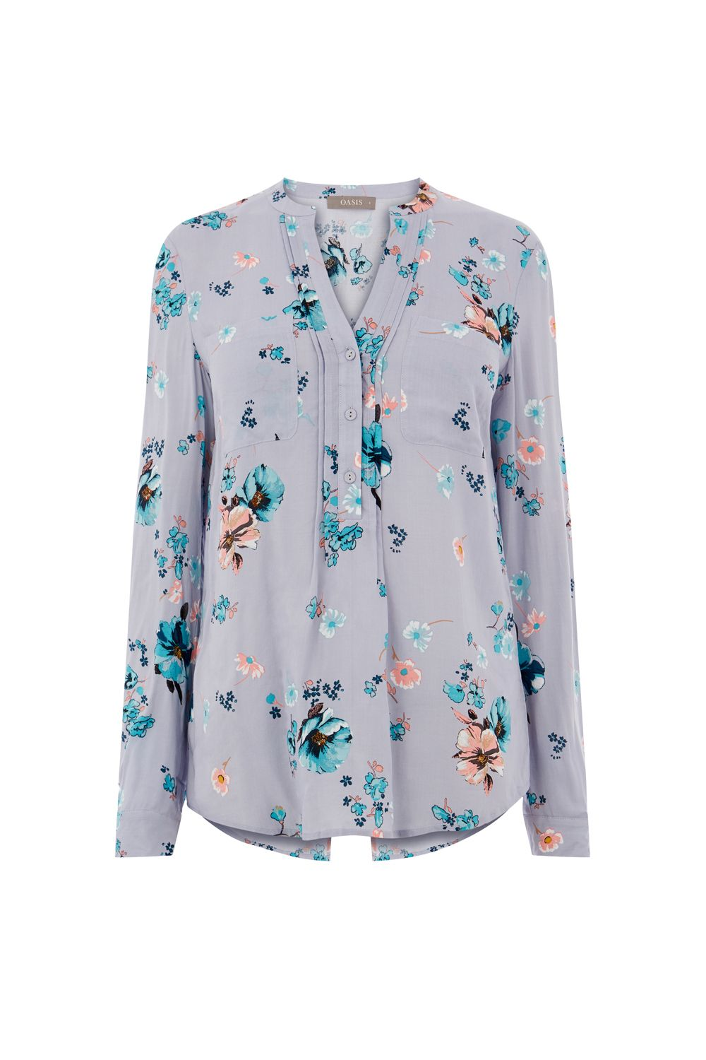 Oasis Rosetti Shirt, Multi-Coloured