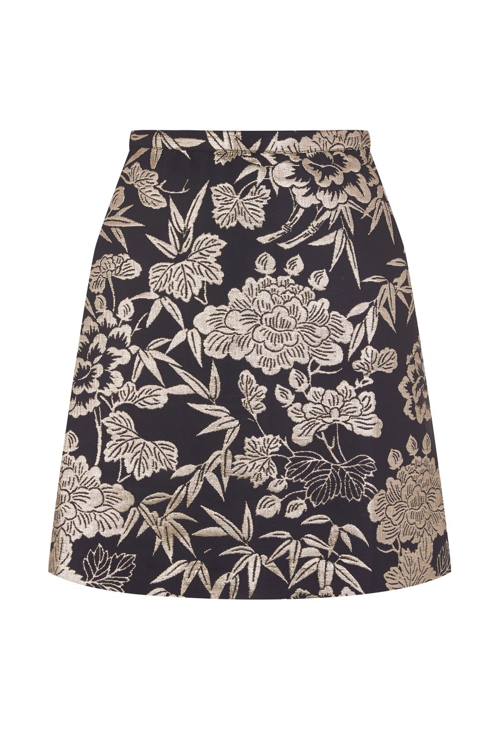 Oasis Kimono jacquard mini skirt, Multi-Coloured