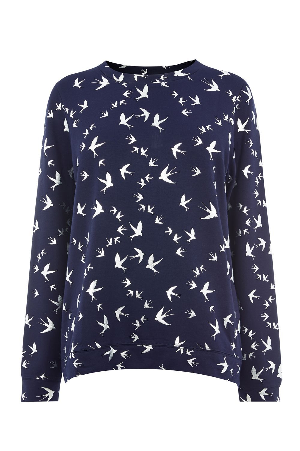 Oasis Foil swallow sweat, Blue