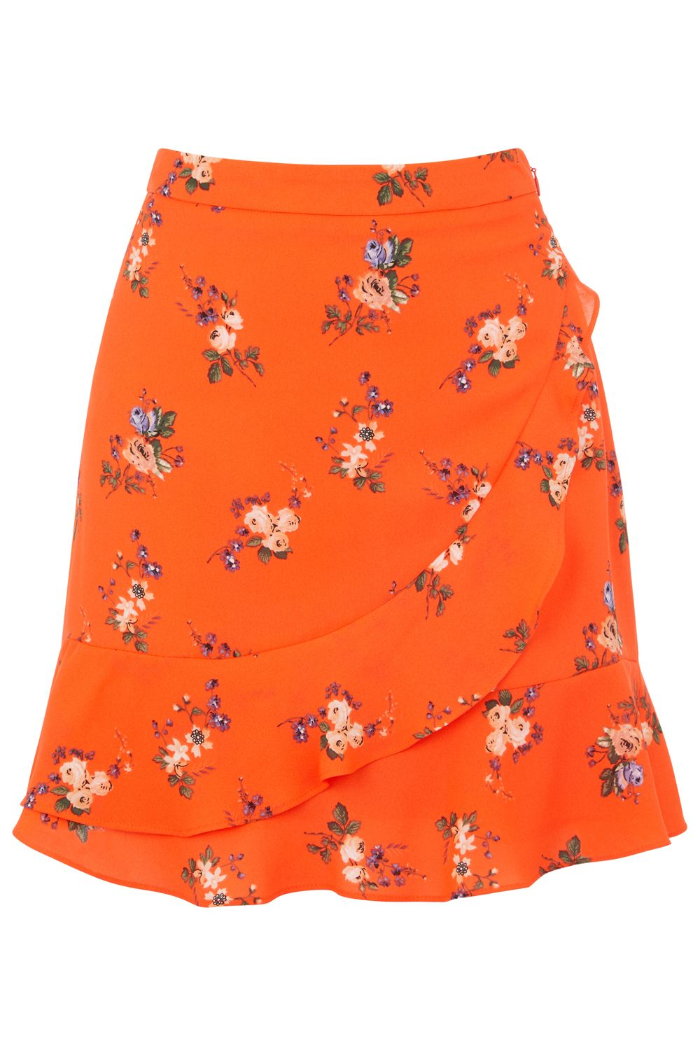 Oasis Bouquet Provence frill skirt, Multi-Coloured