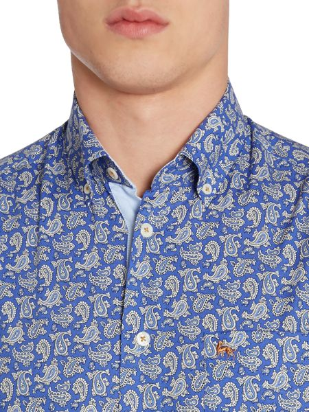 Magee Floral Tailored Fit Long Sleeve Shirt