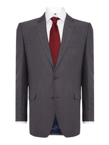 Magee Plain Notch Collar Tailored Fit Suit Jacket