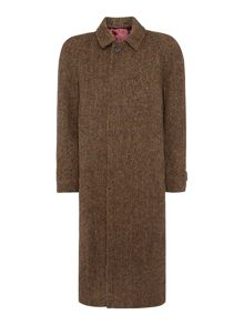 Magee Magee tweed overcoat