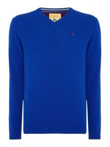 Magee Lambswool V neck Knitwear