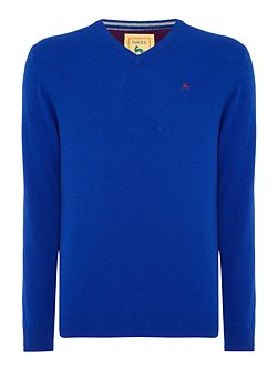 Lambswool V neck Knitwear