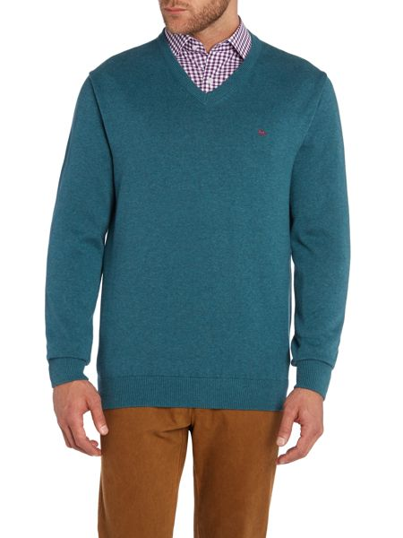 Magee Cotton V Neck Knitwear