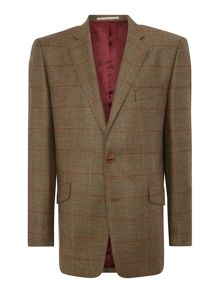 Magee Magee checked tweed jacket