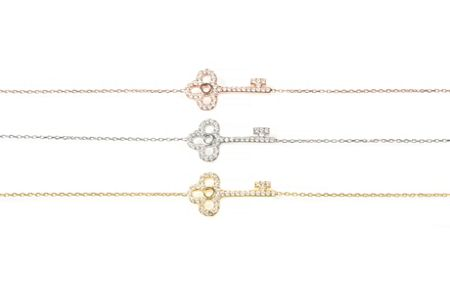 Latelita London Key bracelet silver