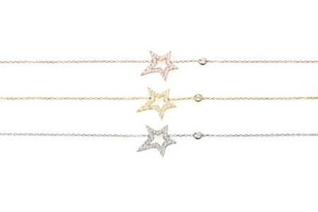 Latelita London Large star bracelet rosegold