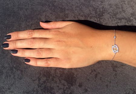 Latelita London Zodiac cancer bracelet silver