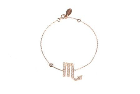 Latelita London Zodiac scorpio bracelet rose