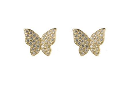 Latelita London Butterfly earring gold