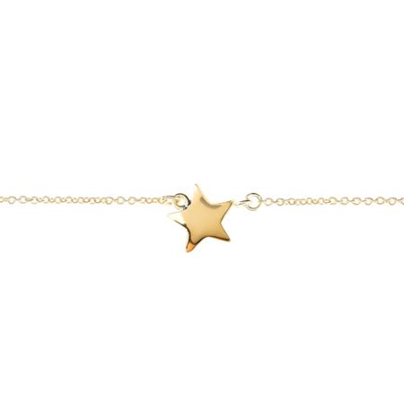 Latelita London Cosmic Star Bracelet Gold