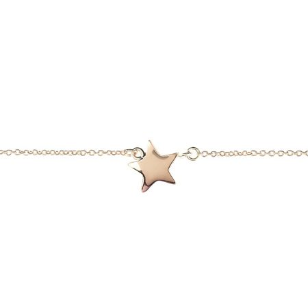 Latelita London Cosmic Star Bracelet Rose Gold