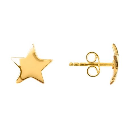 Latelita London Mini Star Stud Earring Gold