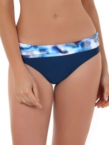 Seaspray Casablanca fold waist brief print