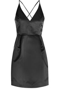 True Decadence Plunge Skater Dress