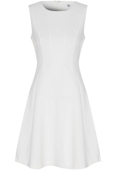 True Decadence Structured Skater Dress