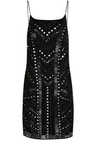 True Decadence Mirror Embellished Dress