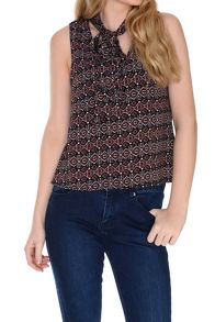 Alice & You Neck Tie Top