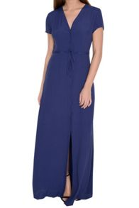 Alice & You Button Front Maxi Dress
