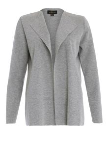 Bonded Jacket with Inverted Collar