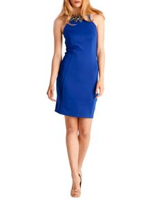 Zibi London Jewel neck sleeveless dress