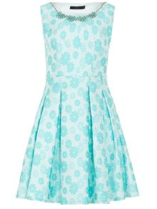 Zibi London Jacquard Necklace Dress