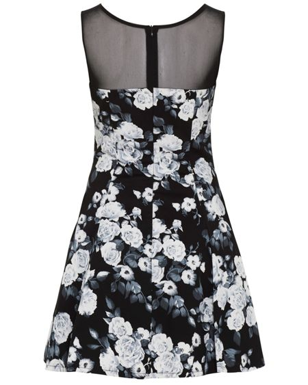 Zibi London Floral Skater Dress