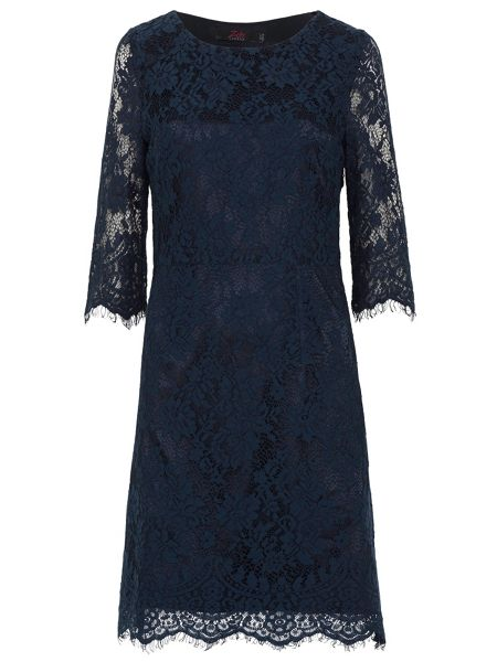 Zibi London Mid Length Sleeve Lace Dress
