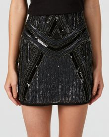 Zibi London Sequin skirt