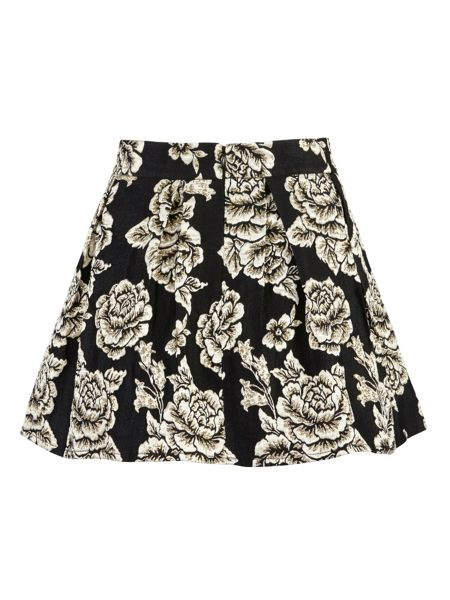 Zibi London Embroided Puff Skirt