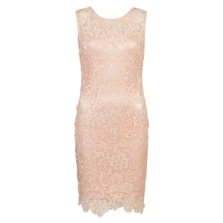 Zibi London Thick Lace Dress