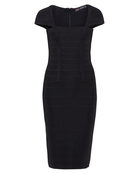Zibi London Cap sleeve bandage dress