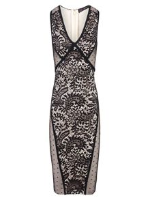 Zibi London Lace Bandage Dress