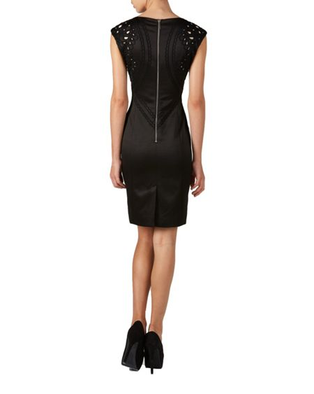 Zibi London Jacquard bodycon dress