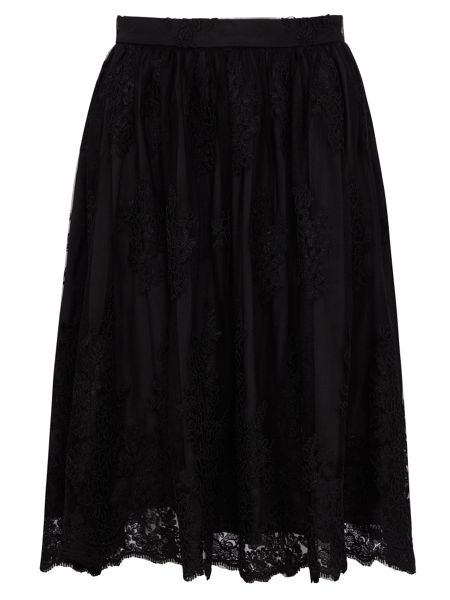 Zibi London Guipure Lace Skirt