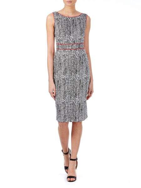 Zibi London Geo print V Back Dress