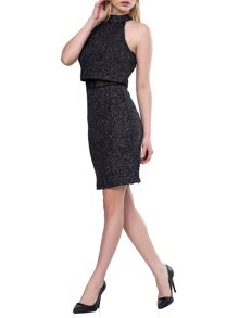 Zibi London Sparkling Window Pane Dress