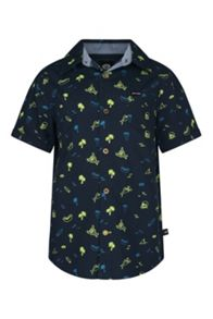 Animal Boy`s Short Sleeve Shirt