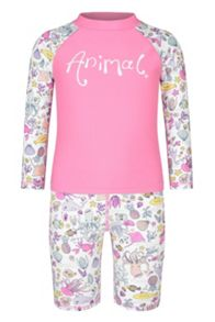 Animal Infant Girls` Rashie Long Sleeve