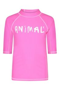 Animal Girls` Rashie Short Sleeve